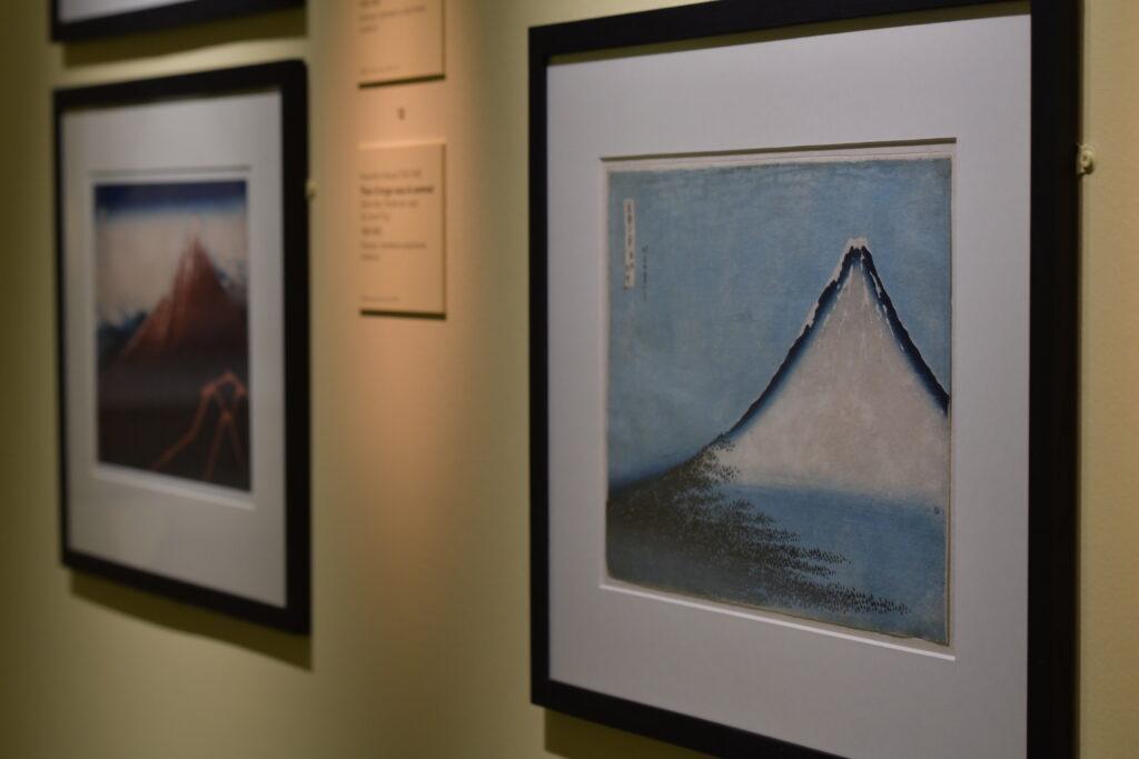 Photo de l'Exposition Fuji, Pays de neige au Musée Guimet