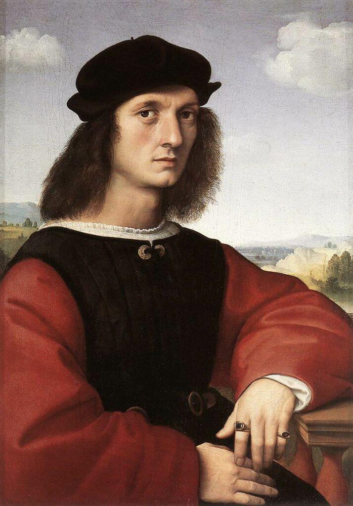 Raphaël, Portrait d'Agnolo Doni, 1505-1506