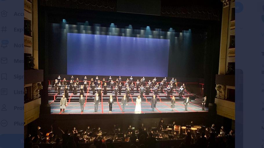 Le Théâtre Royal de Madrid rouvre avec de nouvelles règles respectant les mesures barrières