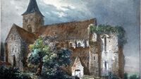 Vue générale église de Graville - so romantic