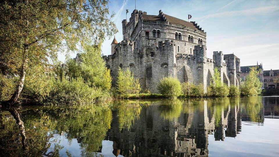 Château des comptes de Flandres à Gand