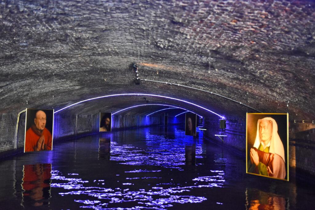 Spectacle son et lumière sous le tunnel, Seven Senses Tour