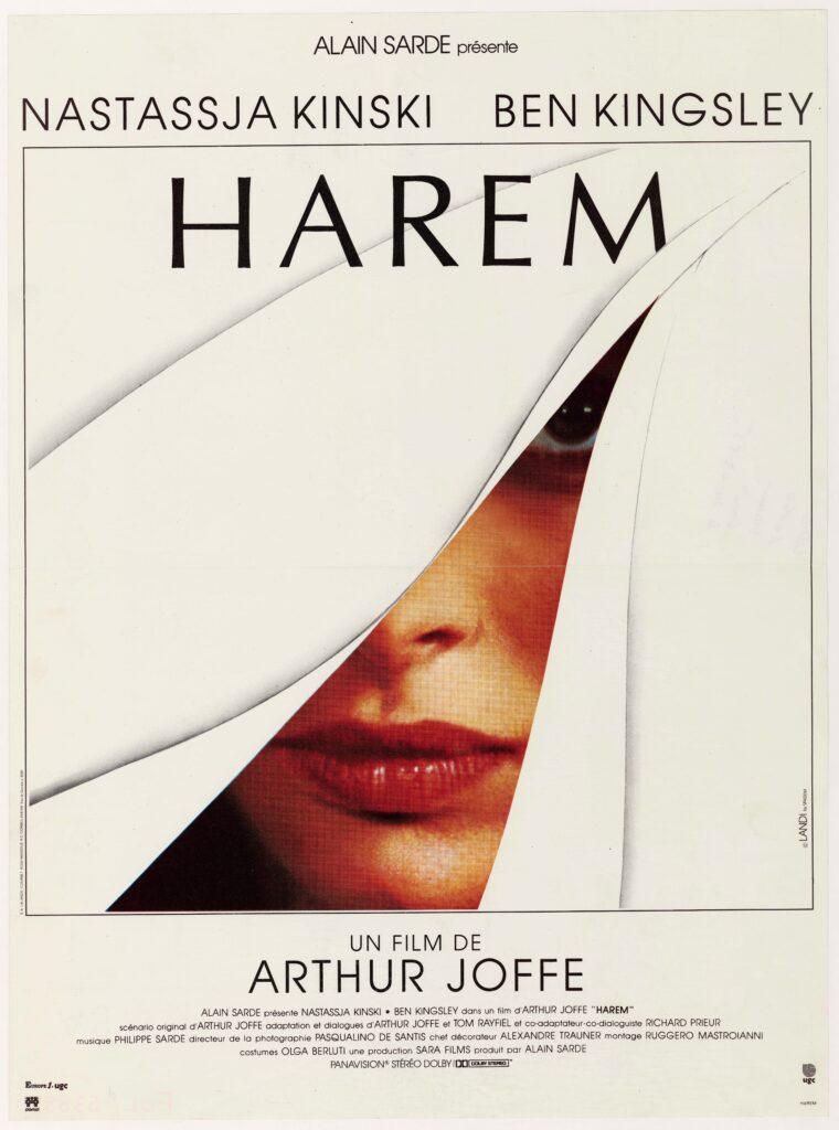 Harem, Arthur Joffé, 1985, affiche de Michel Landi