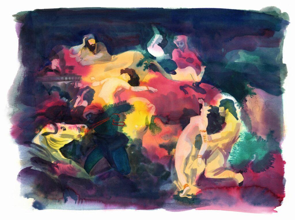 Catherine Meurisse, Delacroix, 2019