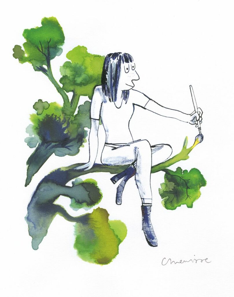 Catherine Meurisse, La vie en dessin, 2020