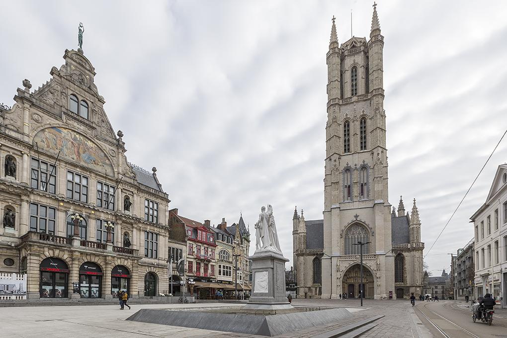 Cathédrale Saint-Bavon à Gand