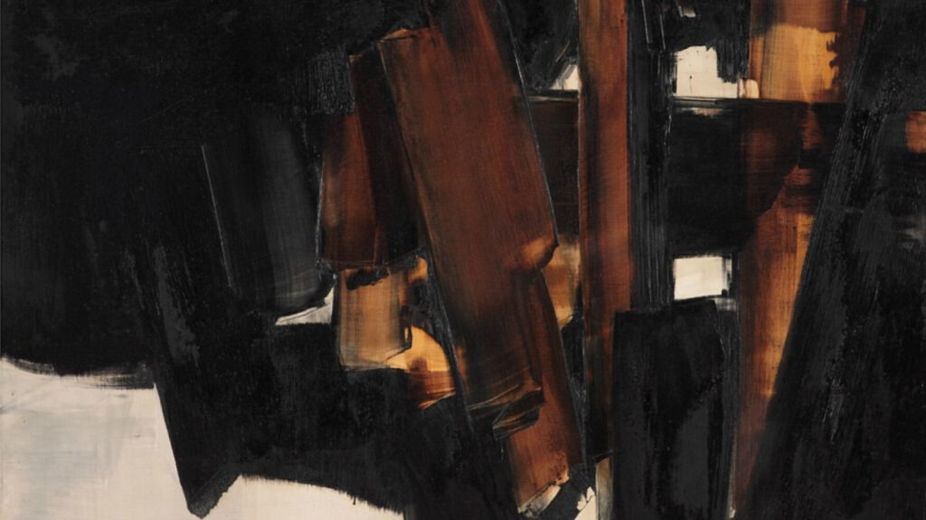 Pierre Soulages, 1960