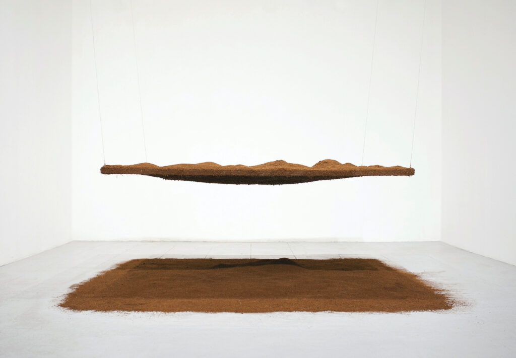 Négociation 34, Porter surface de Caroline Le Méhauté, 2011