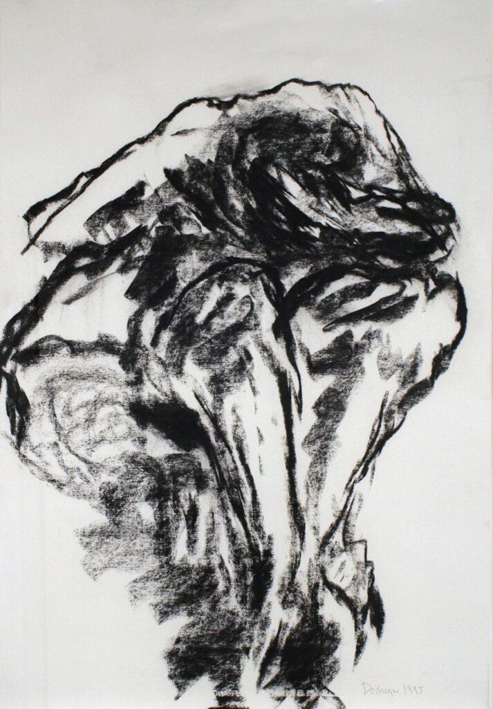 Eugène Dodeigne, dessin sans titre