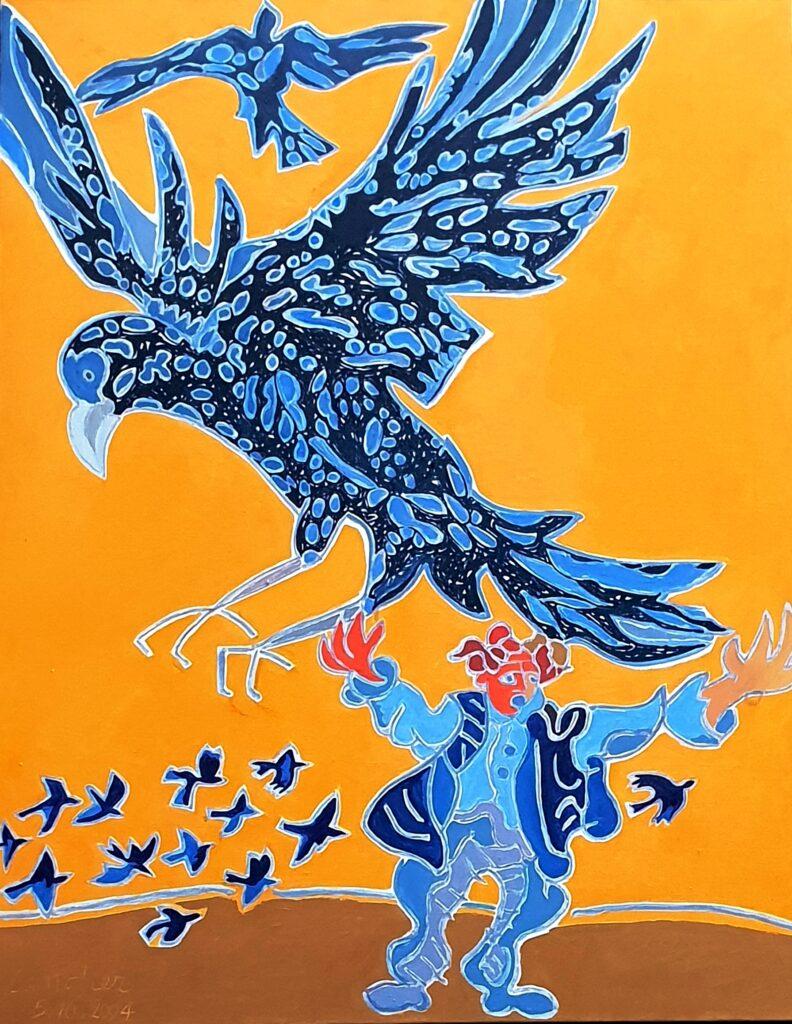 Henri Landier, L'oiseau de proie, 2004