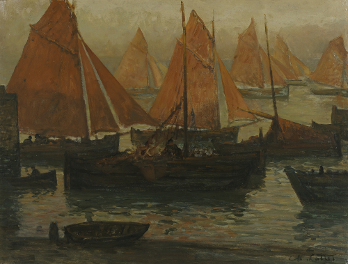 Charles Cottet, Port de Bretagne