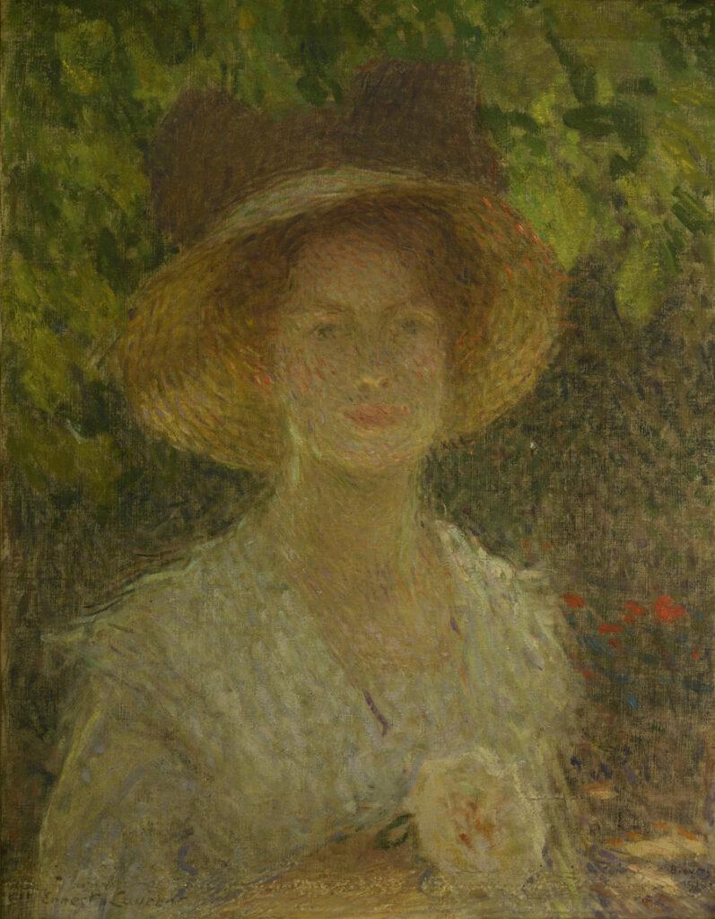 Ernest Laurent, Le Chapeau de paille, 1910
