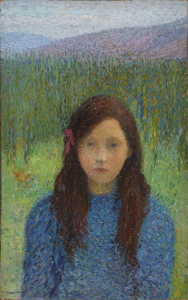 Henri Martin, Petite fille en bleu
