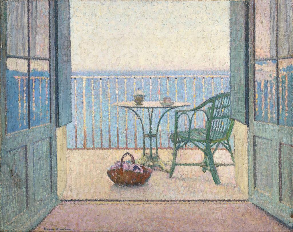 Henri Martin, Terrasse à la fenêtre, vers 1925