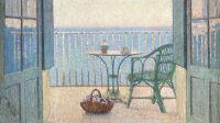 exposition-les-derniers-impressionnistes-musée-de-lodève-Henri Martin, Terrasse à la fenêtre, vers 1925