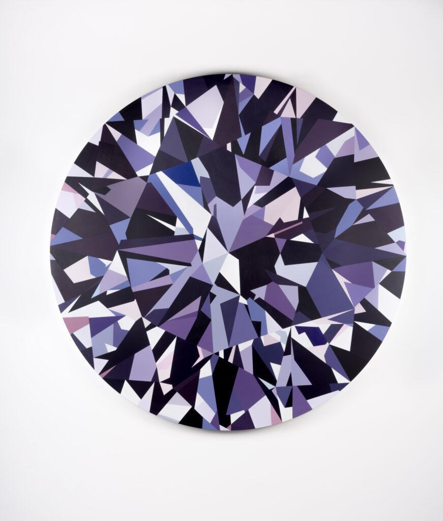 Diamant, Mathieu Mercier, Paris, 2015
