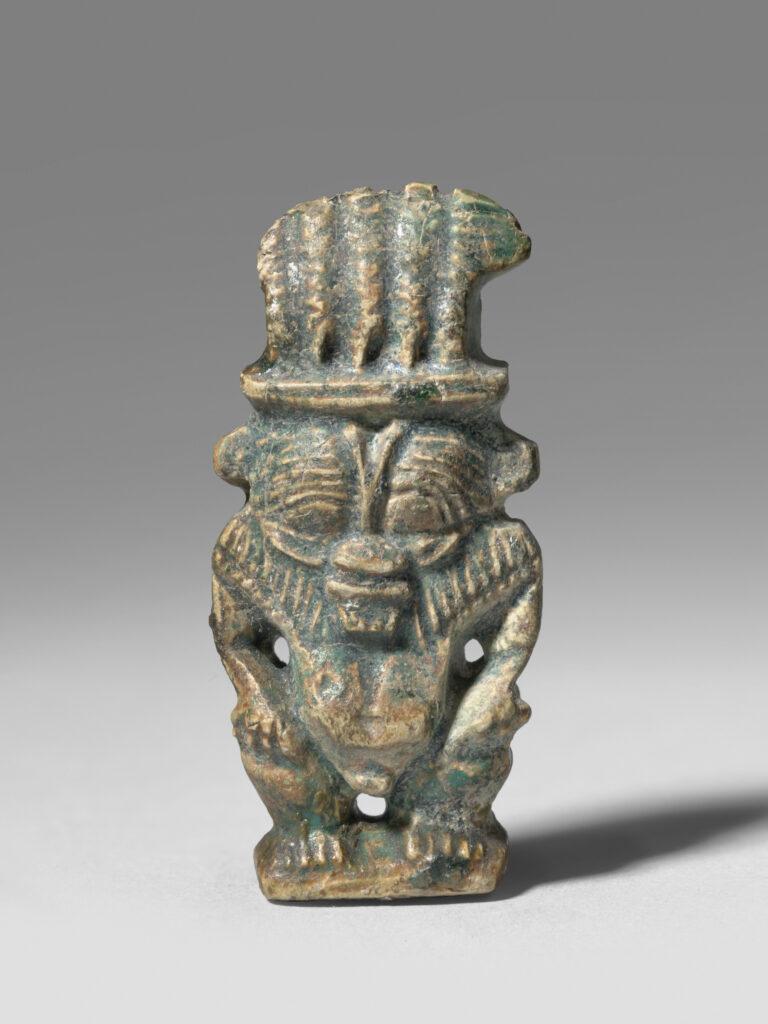 Amulette en forme du dieu Bès