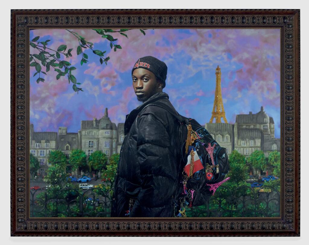 Vendeur de Tour Eiffel (Ibrahima Ramon Magassa), 2019