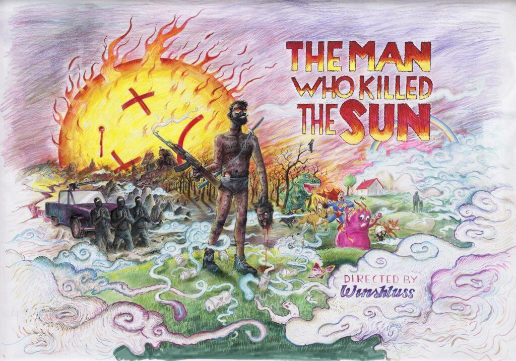 Winshluss, The Man Who Killed The Sun, 2015
