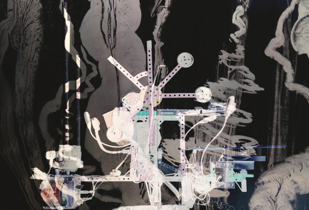Imagerie par Résonance Mécanique, Concert dessiné par Pierre Bastien et Philippe Dupuy