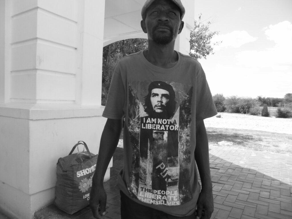 Paulo Nazareth Che, On the road, Namibia, 2012-2016
