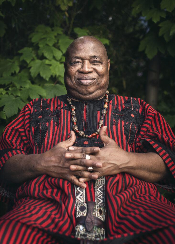 Cheick Tidian Seck, musicien afro-jazz