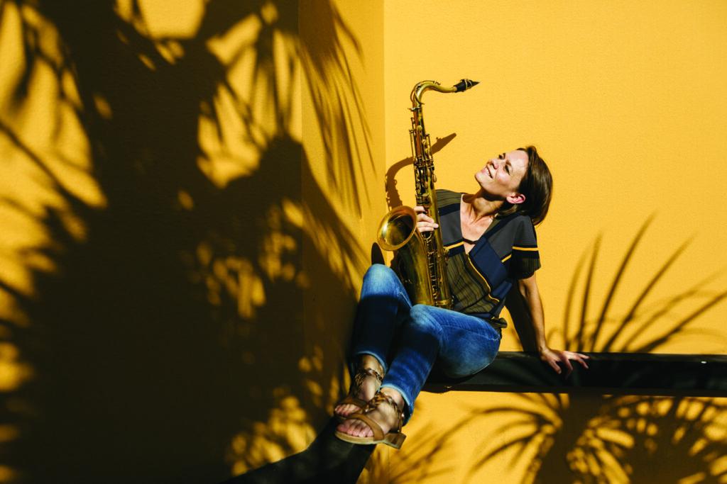 Sophie Alour, saxophoniste
