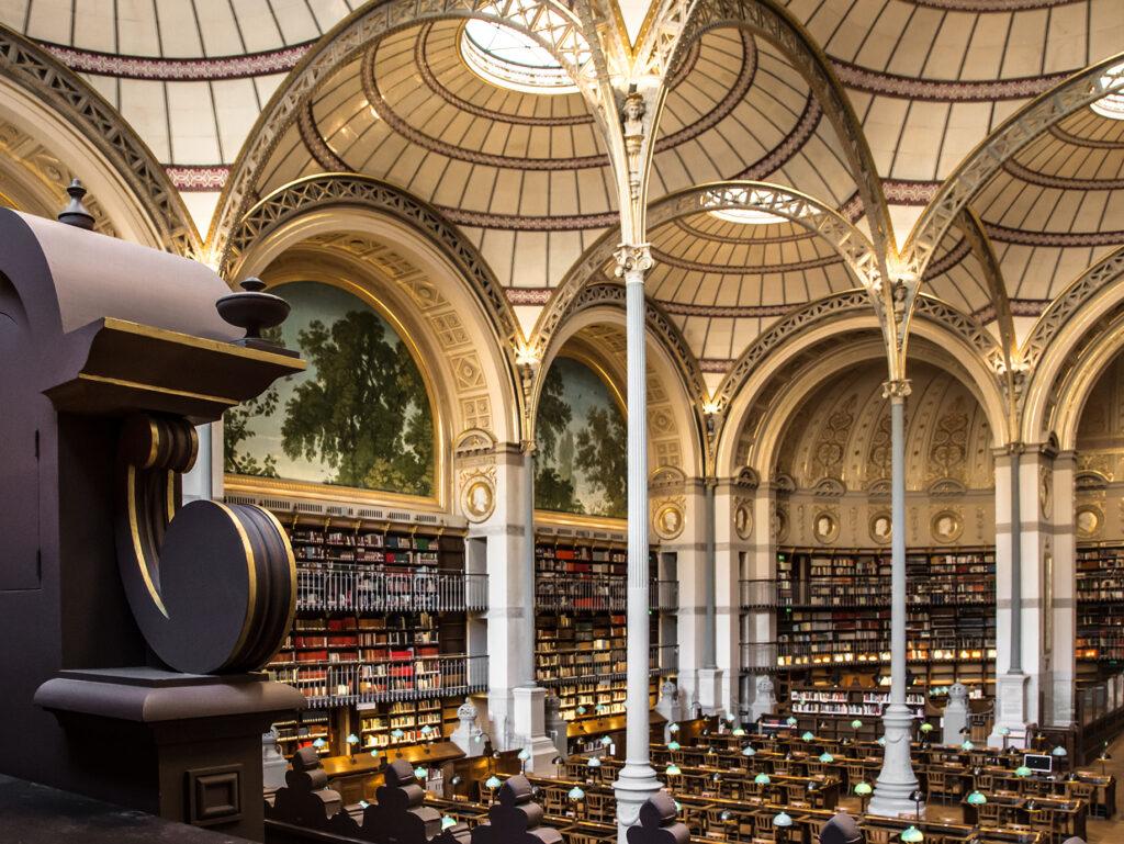 Salle Labrouste de l'INHA