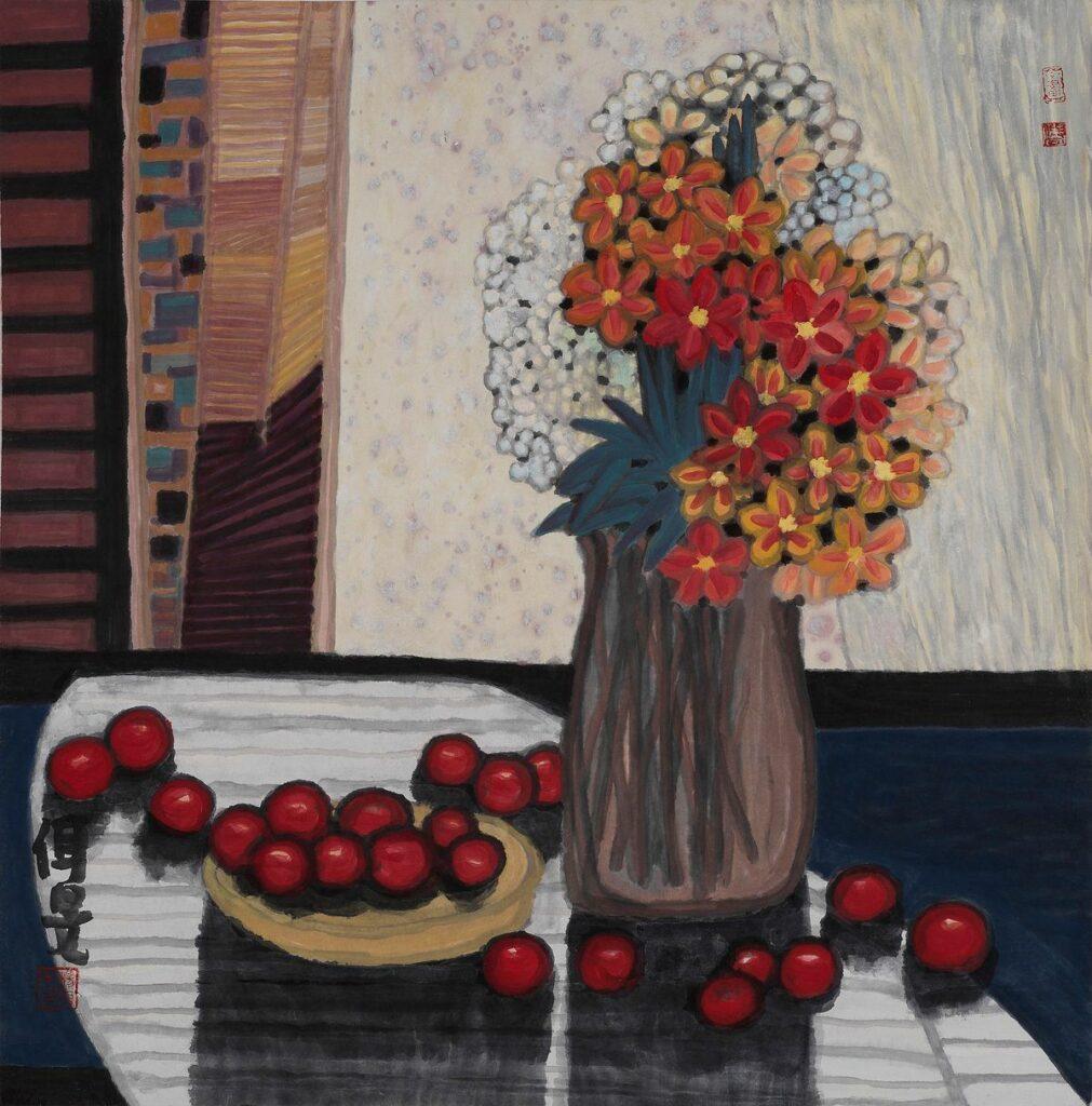 Yang Ermin, Fleurs et fruits, 2010