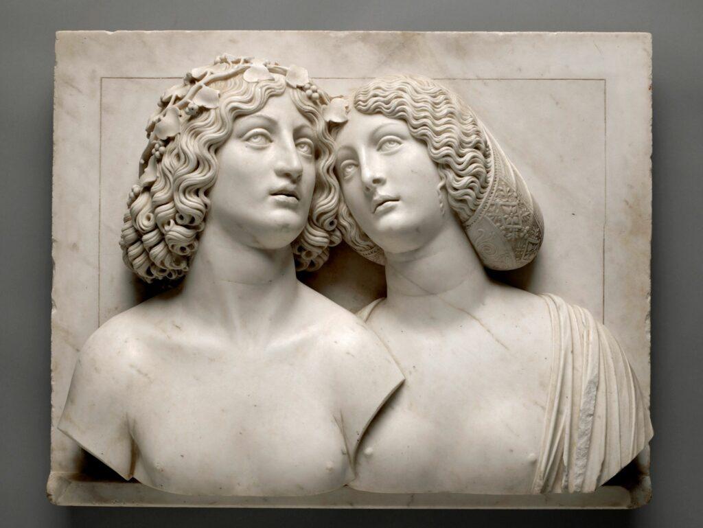 Tullio Lombardo, Bacchus et Ariane, vers 1505‐1510