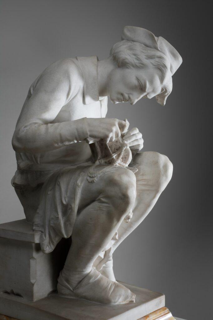 Auguste Bartholdi, Allégorie de l'Orfèvrerie, vers 1860
