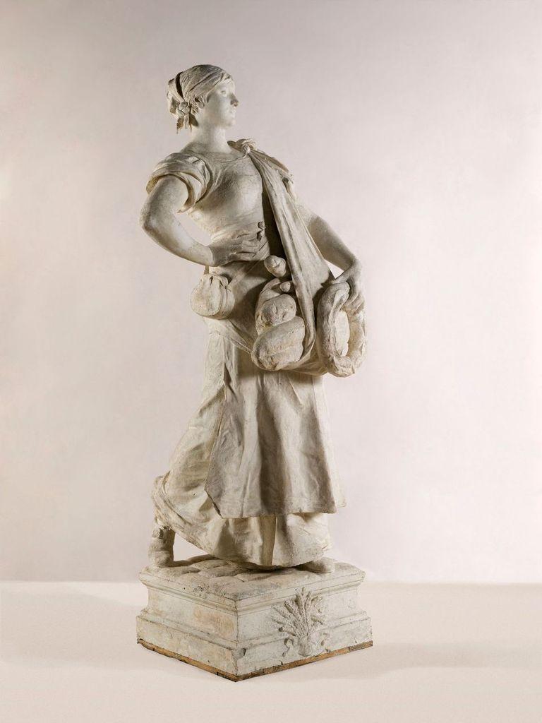 Jules Coutan, La Porteuse de pain, 1882