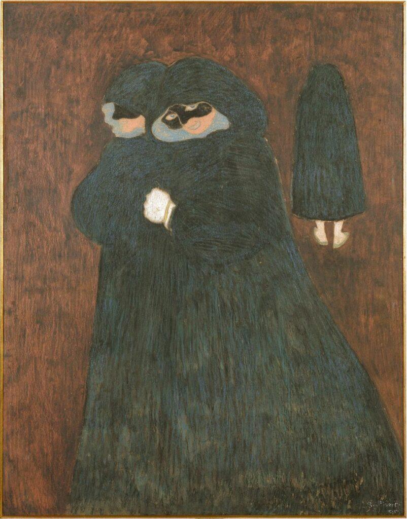 Léon Spilliaert, Les dominos, 1913
