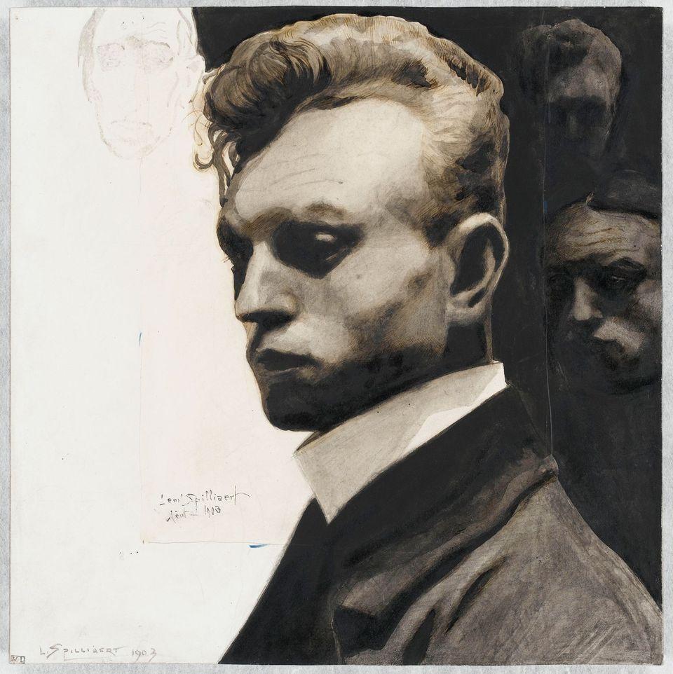 Léon Spilliaert, Portrait de l'artiste par lui-même, 1903