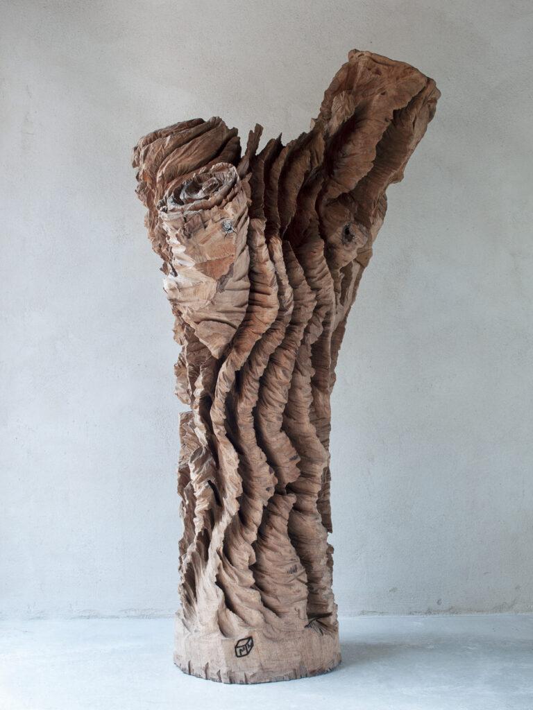 Installation de Marc Nucera au domaine de Chaumont-sur-Loire