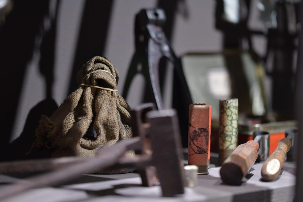 Vue des collections permanentes de la Maison Rouge - Musée des vallées cévenoles