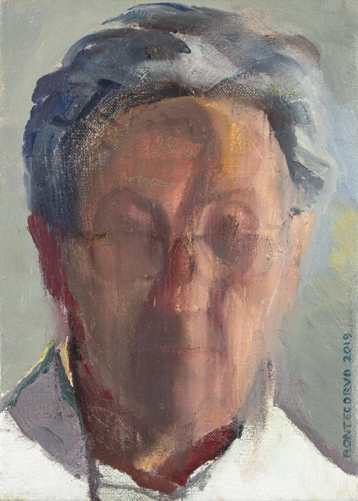 Alain Pontecorvo, Autoportrait, 2020