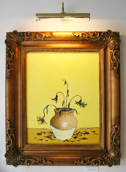 Banksy, Sunflowers from Petrol Station, 2005