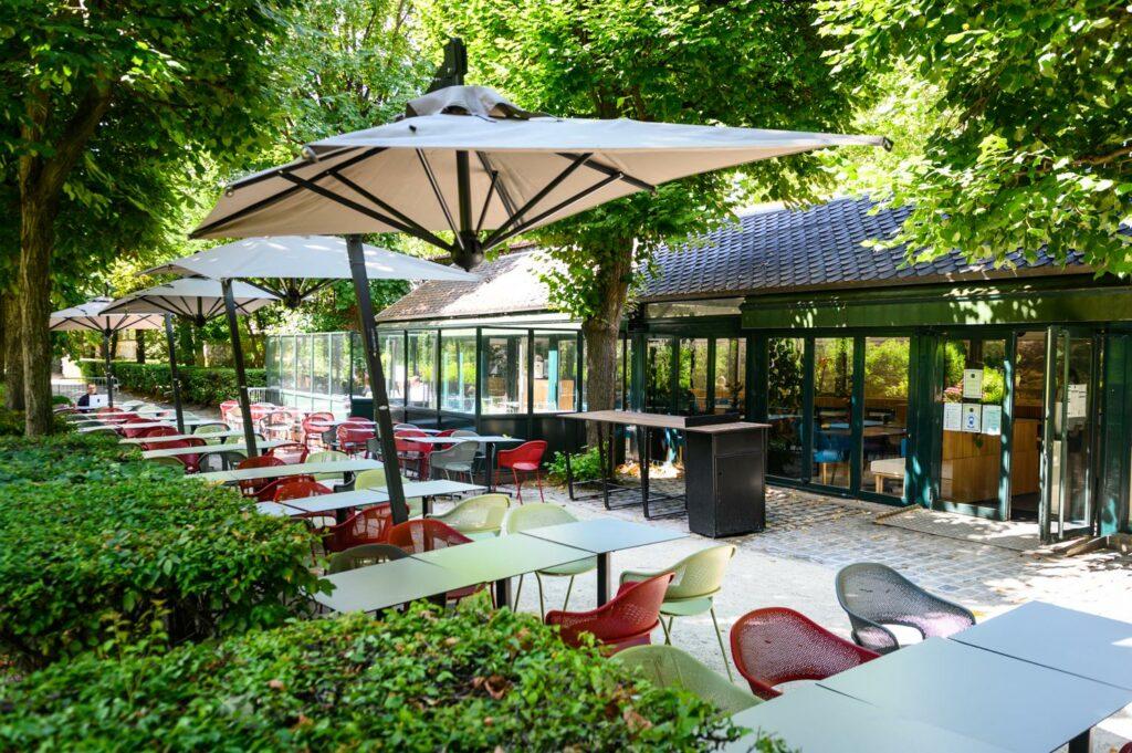 Restaurant-Café L'Augustine, dans le jardin
