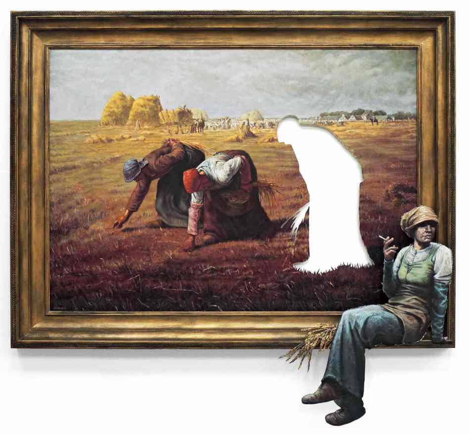 Banksy, Les Glaneuses, 2008