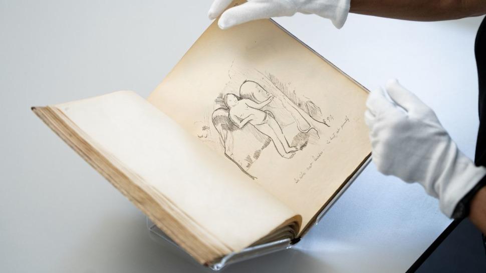 Le manuscrit Avant et Après, témoignage des convictions et des idées de l'artiste