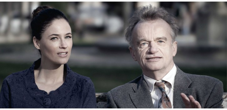 Dominique Pinon et Mélanie Bernier
