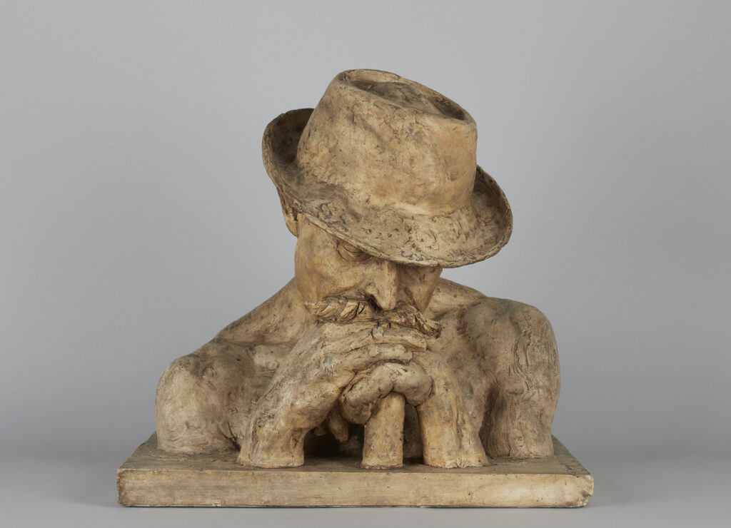 Jules Dalou, Buste de terrassier, vers 1900-1901
