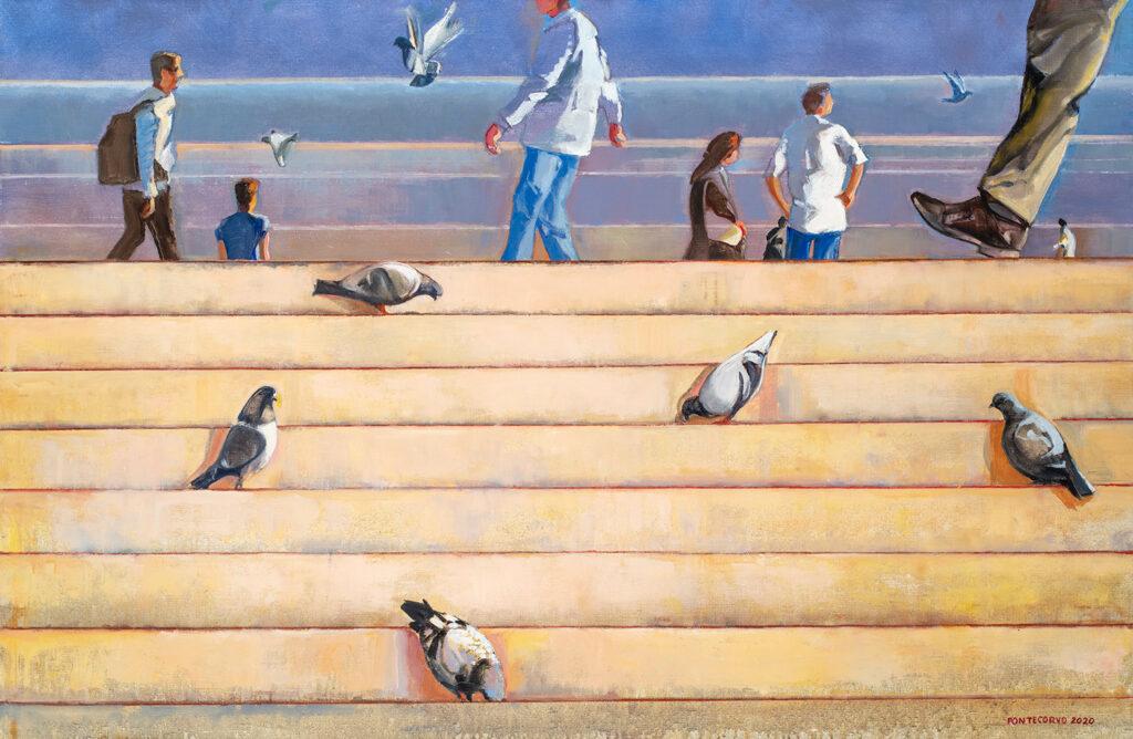 Alain Pontecorvo, Des Pigeons et des des hommes, 2020