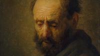 Rembrantd, Tête d'un homme barbu, vers 1630