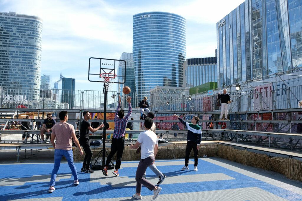 Basket libre à Urban Week