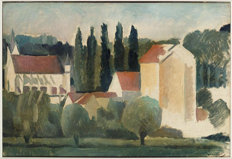 André Derain, La Chapelle-sous-Crecy, vers 1910