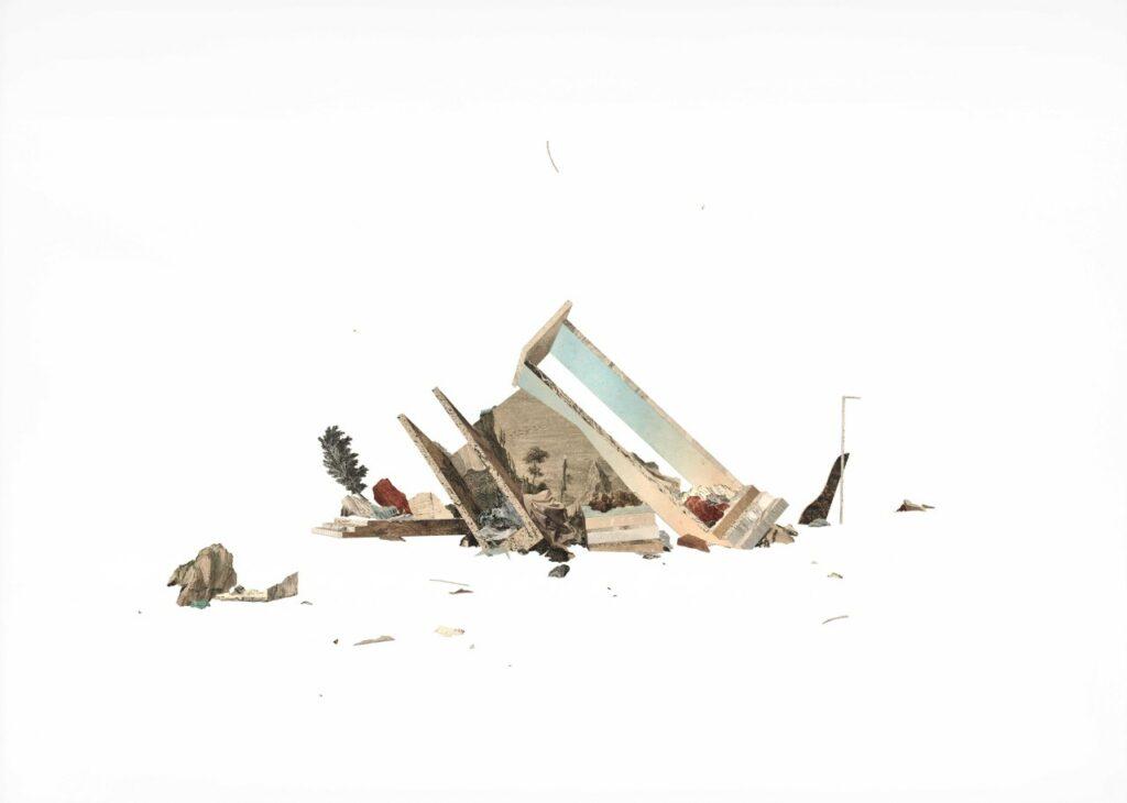 Claire Trotignon, Windy ruin version, 2020
