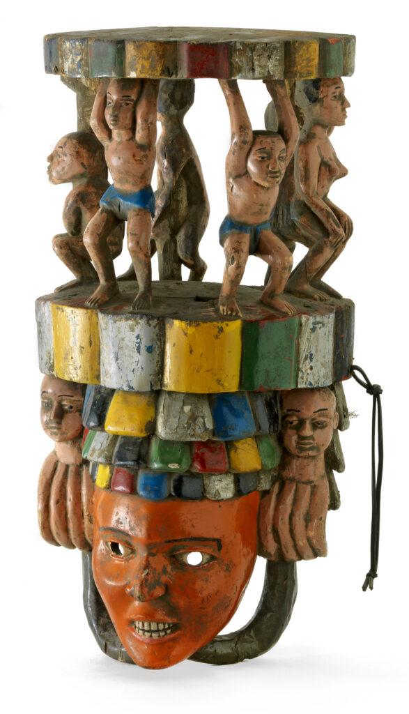 Masque de danse, seconde moitié du 20e siècle, Nigeria, culture ibo