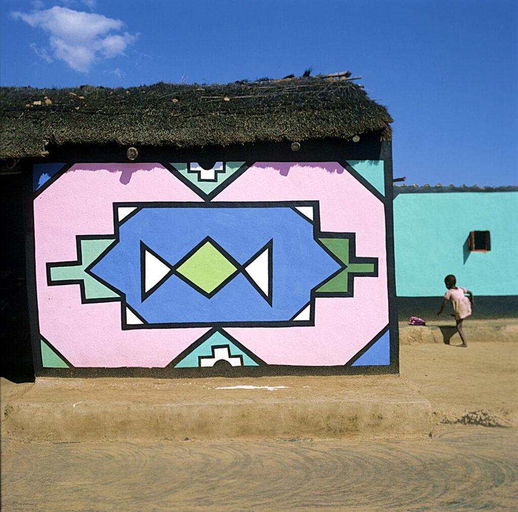 Mur peint, Afrique du Sud